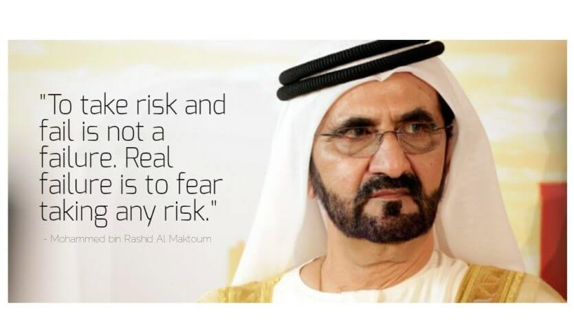 His Highness on Risk