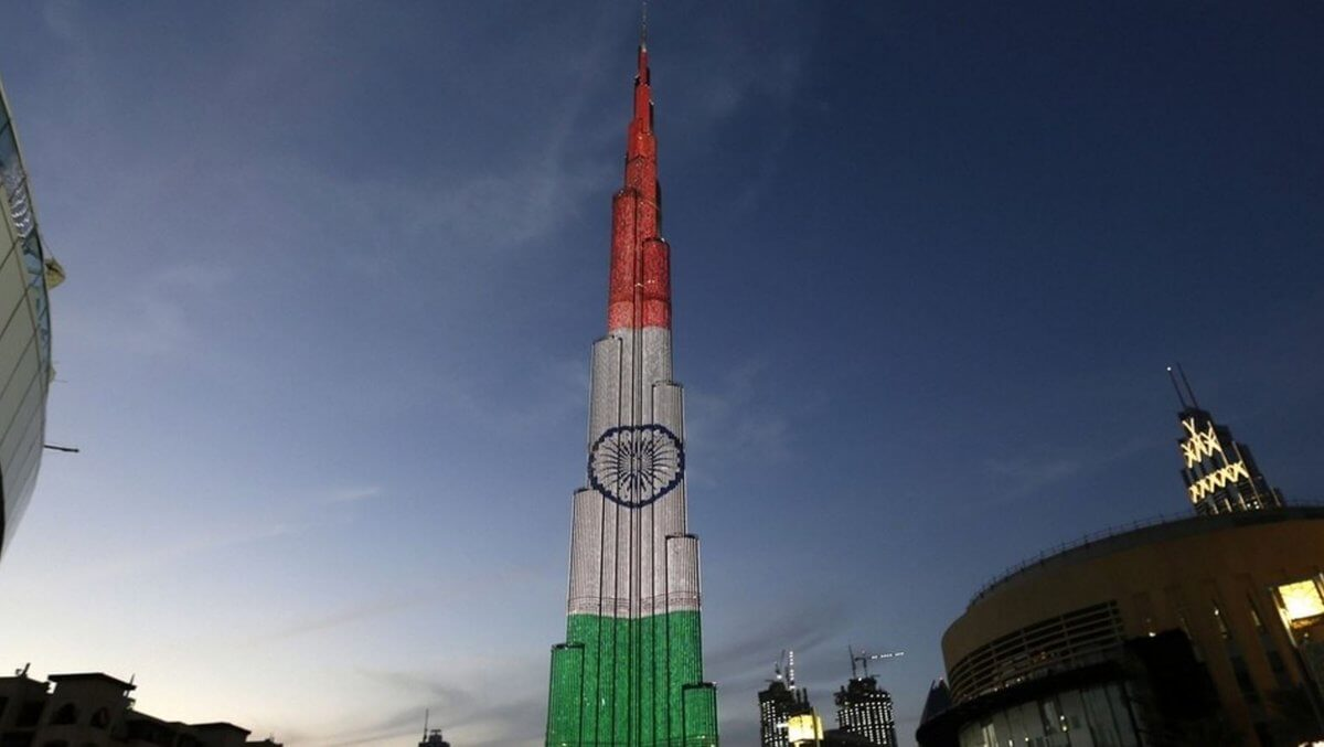 Indian Flag-Burj Khalifa